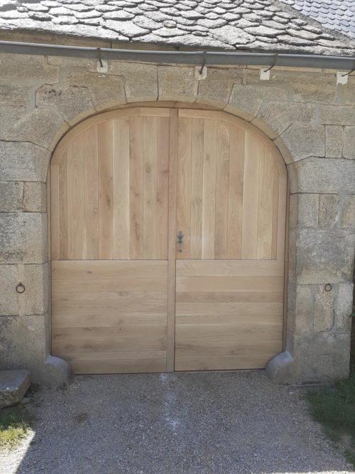 Porte de grange Reygade