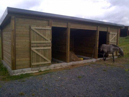 bâtiment ossature bois pour vétérinaire